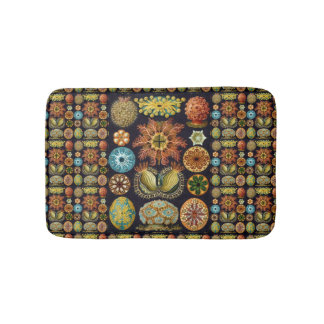 Ascidiae by Ernst Haeckel, Vintage Marine Animals Bath Mats