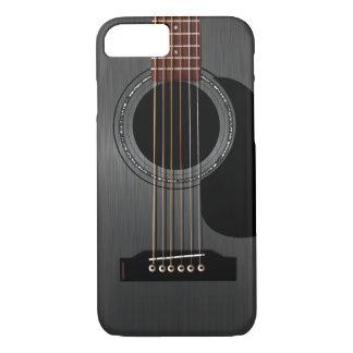 Ash Black Acoustic Guitar iPhone 8/7 Case