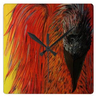 Ash the Phoenix Clock