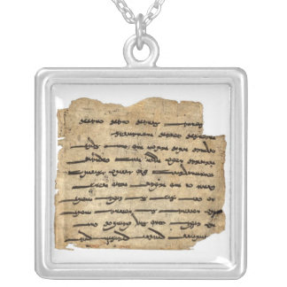 Ashem Vohu Silver Plated Necklace