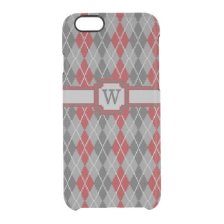 Ashes and Embers Argyle Uncommon iPhone Case