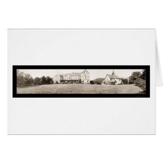 Asheville College Photo 1910 Card
