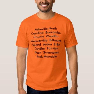 Asheville North Carolina Shirts
