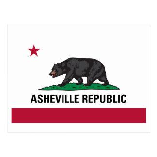 Asheville Republic Postcard