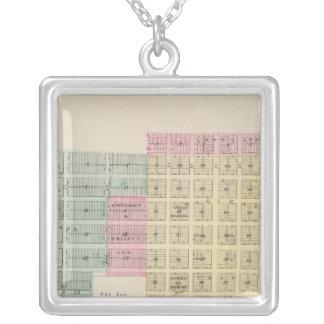 Ashland, Clark County, Kansas Silver Plated Necklace