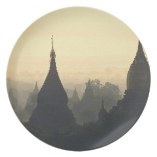 Asia, Burma, (Myanmar), Pagan (Bagan) Hot Air Plate