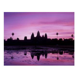 Asia, Cambodia, Siem Reap, Angkor Wat (b. 12th 2 Postcard