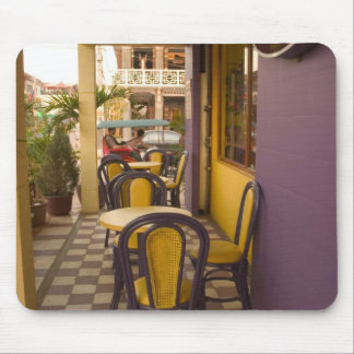 Asia, Cambodia, Siem Reap, coffee shop. Mouse Pad