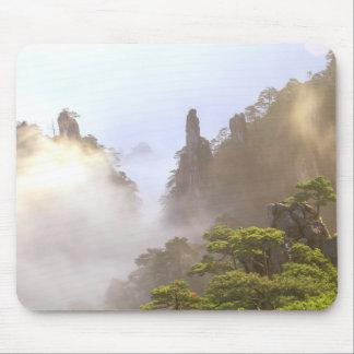 Asia, China, Huanshan. The Yellow Mountain in Mouse Pad