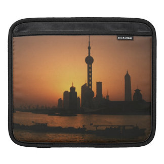 ASIA, China, Shanghai View of Oriental Pearl TV iPad Sleeve
