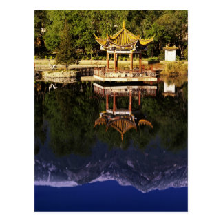 Asia, China, Yunnan, Dali. Cangshan Mountains Postcard