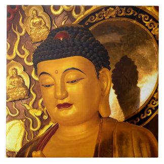 Asia Golden Buddha Tile
