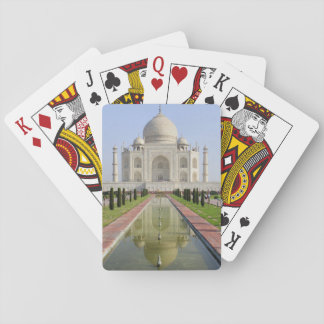 Asia, India, Uttar Pradesh, Agra. The Taj 5 Playing Cards