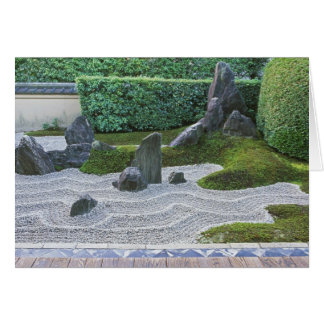 Asia, Japan, Kyoto, Daitokuji Temple, Zuiho-in Card