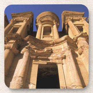 Asia, Jordan, Petra. El Deir, The Monastery. Coaster