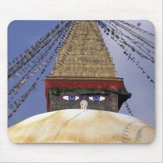 Asia, Nepal, Kathmandu. Bouddhanath Stupa. 2 Mouse Pad