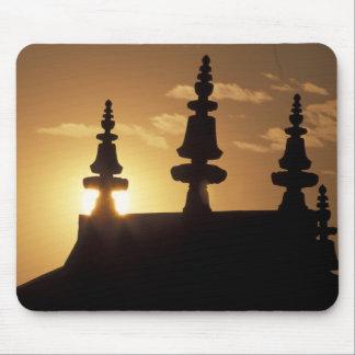 Asia, Nepal, Kathmandu. Bouddhanath Stupa. Mouse Pad