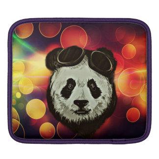 Asia Panda Bear with Bokeh Style iPad Sleeve