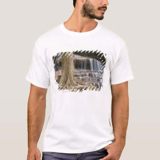 Asia, Waterfall on the border between Thailand T-Shirt