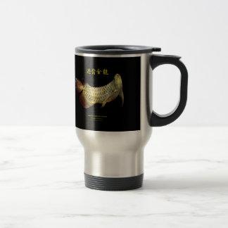 Asian Arowana Stainless Steel Travel Mug