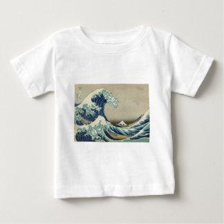 Asian Art - The Great Wave off Kanagawa Baby T-Shirt