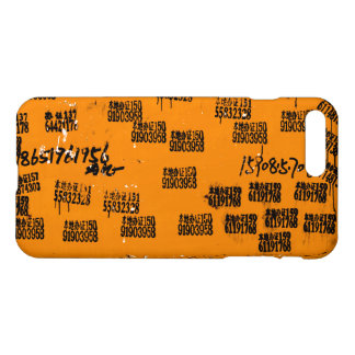 Asian Characters Yellow Brown Orange Cool Unique iPhone 7 Plus Case