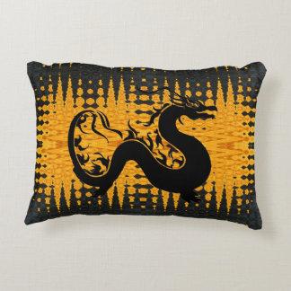 Asian Dragon Decorative Cushion