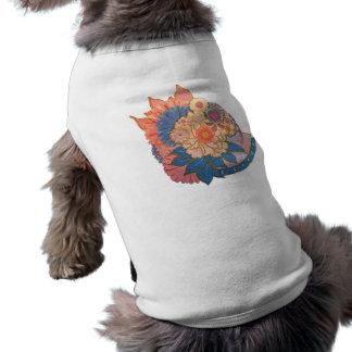 Asian Flower Collage art Shirt