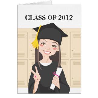 Asian Graduate Note Card