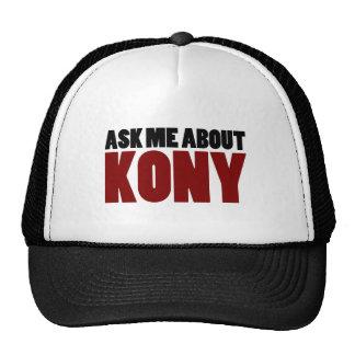 Ask About Kony 2012 Stop Joseph Kony Question Cap