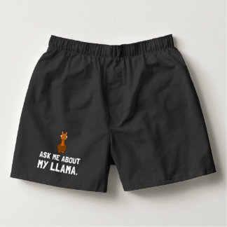 Ask Me About Llama Boxers
