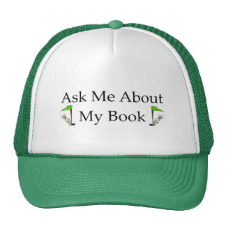Ask Me About My Book Cap