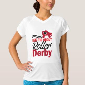 Ask me about Roller Derby, Roller Skating T-Shirt