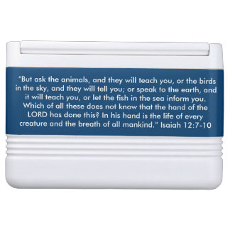 """""""Ask the Animals"""" Igloo Scripture 12 can Cooler Chilly Bin"""
