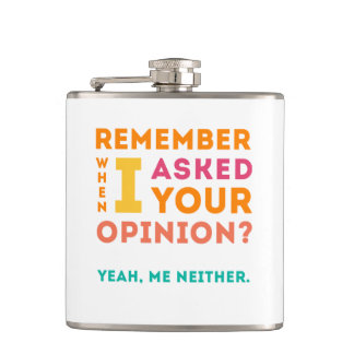 Asked your opinion hip flask