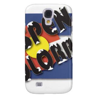 Aspen Colorado - State Flag Galaxy S4 Case