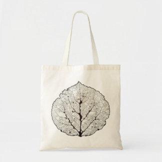 Aspen Leaf Skeleton 1 Tote Bag