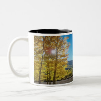 Aspen Sunshine Two-Tone Coffee Mug