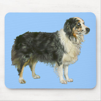 Aspen the Australian Shepherd Mouse Pad