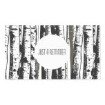aspen trees appointment reminder pack of standard business cards