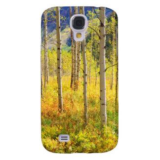 Aspen Trees in Autumn in the Rockies Galaxy S4 Case