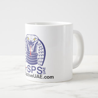 ASPS Active Sports Performance Swim Mug 20 Oz Large Ceramic Coffee Mug