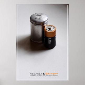 Assault & Battery Poster