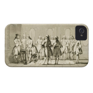 Assembly of Free Masons to Initiate an Apprentice, iPhone 4 Cases