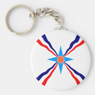 Assyrian People, Democratic Republic of the Congo Key Ring