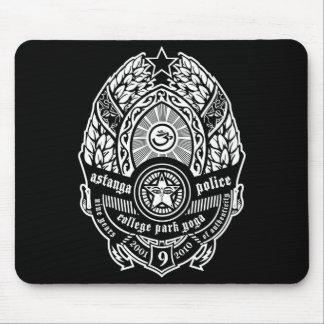 astanga police mouse pad