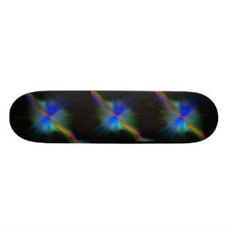 Asteroid Vibrations abstract design 20.6 Cm Skateboard Deck