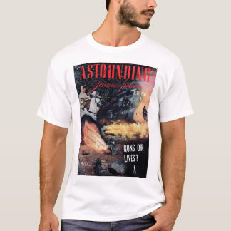 Astounding v035 n05 (1945-07.Street&Smith)_Pulp Ar T-Shirt
