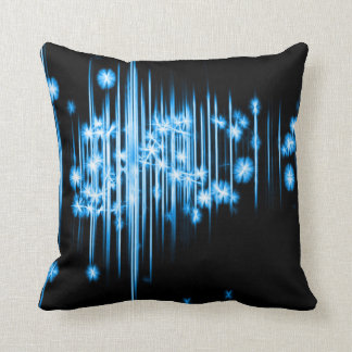 Astral Faerie Lights Fractal Plush Throw Pillow