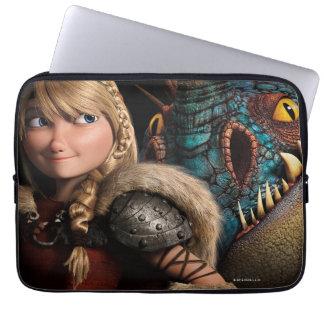 Astrid & Stormfly Laptop Sleeve
